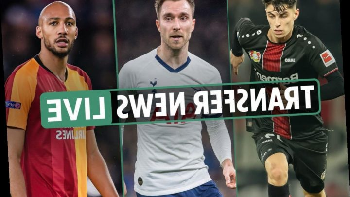 1.30pm Transfer news LIVE: Liverpool '£107m Havertz interest', Aston Villa want Nzonzi, PSG join Eriksen race – The Sun