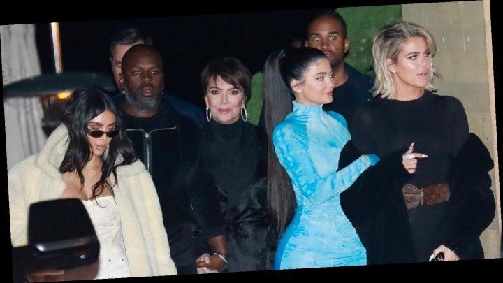 Kardashian-Jenner Family Steps Out for Group Dinner in Malibu!