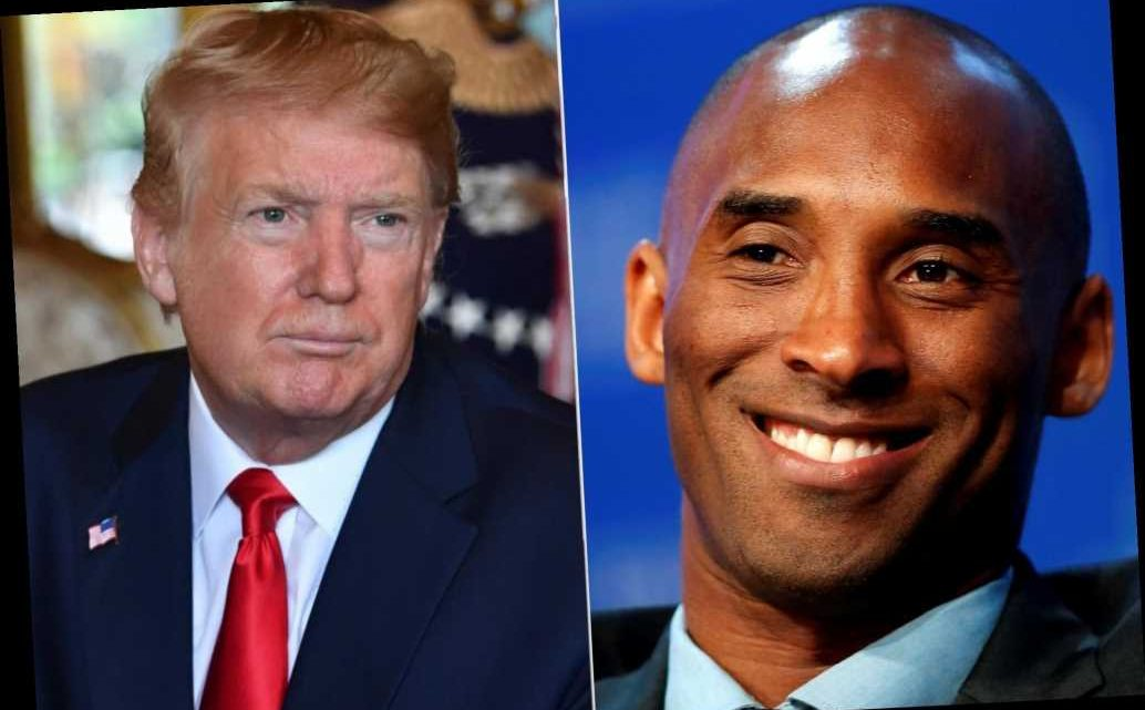 Trump mourns 'terrible' death of Kobe Bryant