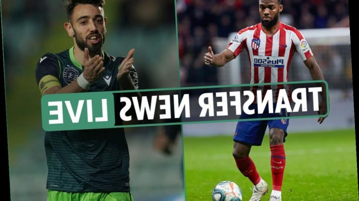 11.30am Transfer news LIVE: Manchester United and Spurs in Bruno Fernandes battle, Wolves set to win Lemar race – The Sun