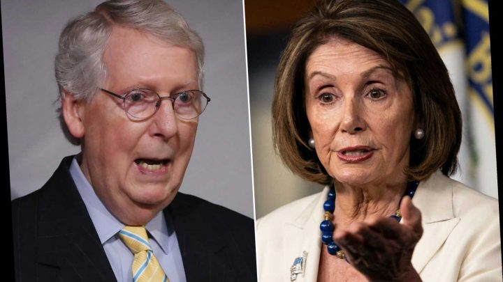 McConnell blasts Pelosi for 'shameless game-playing' over impeachment