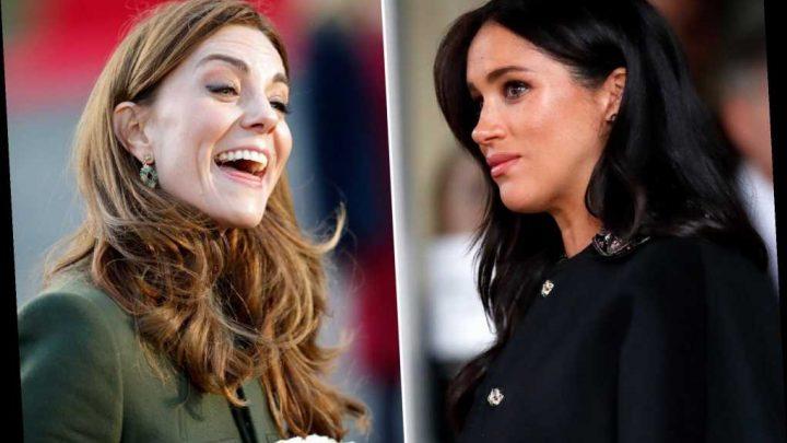 Meghan Markle gets more bad press than Kate Middleton: survey