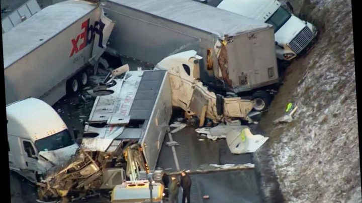 Three victims launched into roadway during fatal Pennsylvania crash