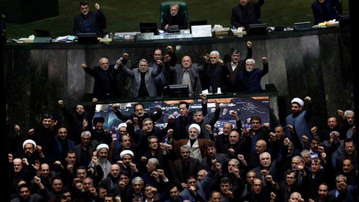 Iran lawmakers chant 'Death to America' in parliament over Qassem Soleimani killing