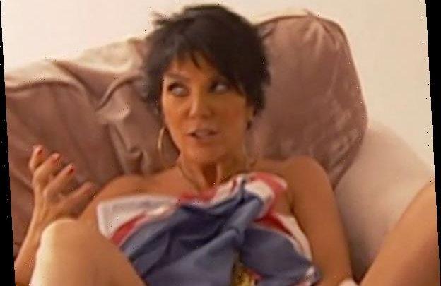 Remember When Kim Kardashian Made Kris Jenner Strip Naked for a Photoshoot?