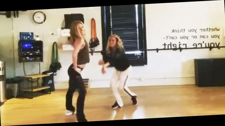 Kelly Ripa Just Shared A Dance Video 'Auditioning' For The Super Bowl Halftime Show