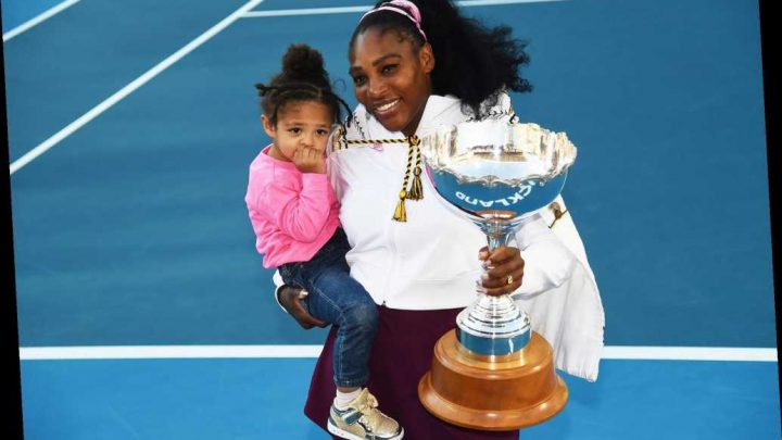 Serena Williams' first win as a mom snaps three-year title drought