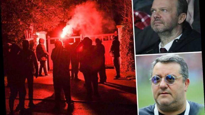 Mino Raiola slams 'morons' who attacked Man Utd chief Ed Woodward's house as Pogba's agent puts rivalry aside – The Sun