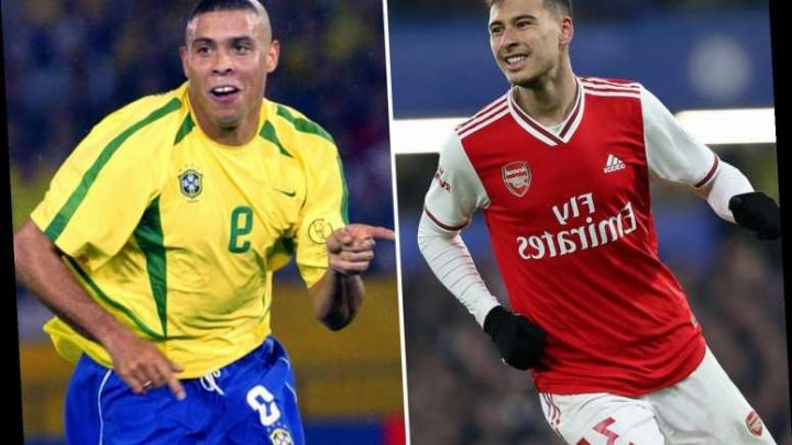 Ronaldinho hails Arsenal sensation Gabriel Martinelli as the next Ronaldo and tips him to become the best in the world – The Sun