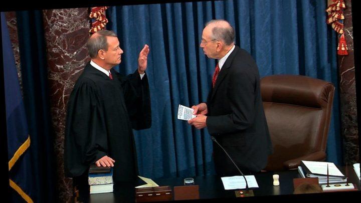 Senators to pose questions of House prosecutors and President Trump's defense team – updates