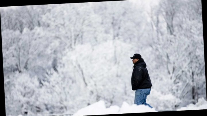 'Hazardous' travel ahead: Weekend winter storm to wallop Midwest and Northeast with snow and ice