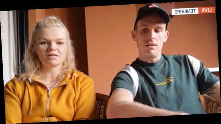British couple trapped in Tenerife hotel over coronavirus 'panicked' about son