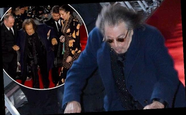 BAFTAs 2020: Al Pacino takes a tumble on red carpet
