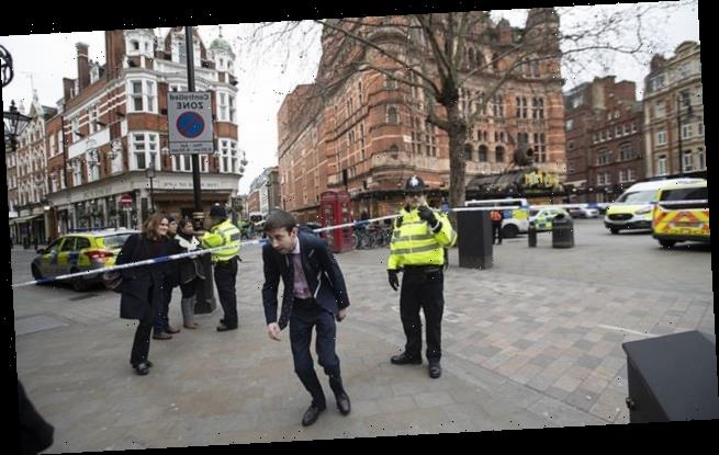 Bomb squad put central London on lockdown for a SECOND day