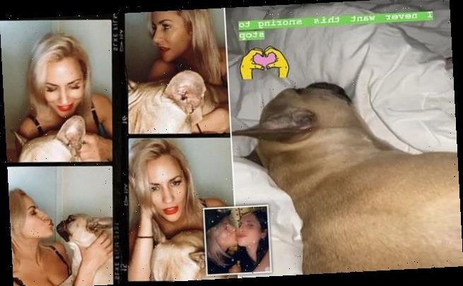 Caroline Flack's friend shares video of Love Island host's dog