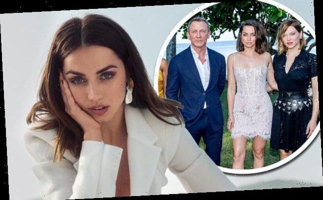Bond star Ana De Armas reveals she wore her brother's cast-offs