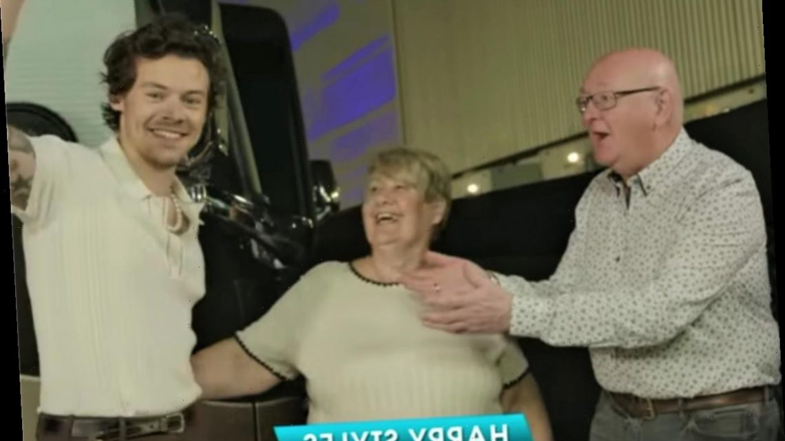 This Video Of Harry Styles Dancing Salsa With James Corden S Dad Is Required Viewing The Projects World