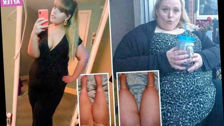 Bullying victim whose PTSD saw her balloon to 32st has lost 14st after swapping her emotional binges for a keto diet