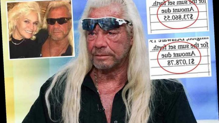 Dog the Bounty Hunter rocked by $75,000 bill for late wife Beth's credit card debt – The Sun