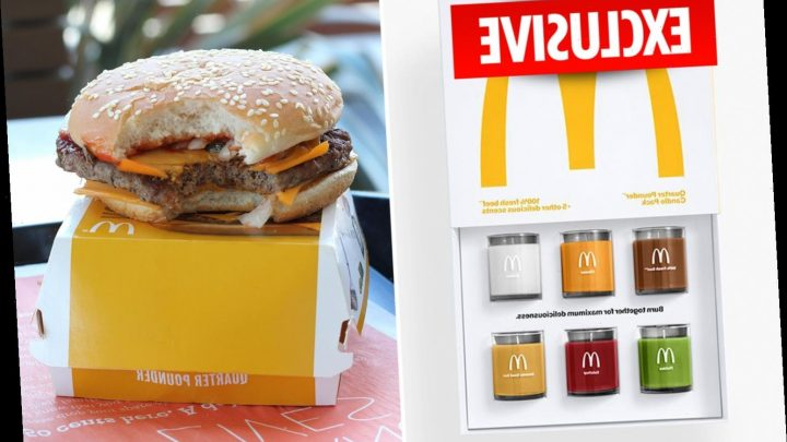 McDonald's releases scented candles that smell of Quarter Pounder ingredients including beef, ketchup and pickles – The Sun