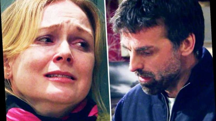 Emmerdale blunder as Vanessa goes two days without the loo after being kidnapped by Pierce