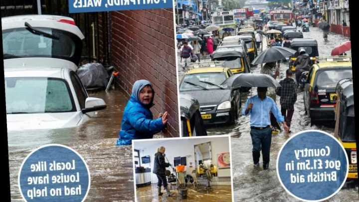 UK has given £8million of taxpayers' money in flood aid to India, China, Brazil and others since 2016 – The Sun