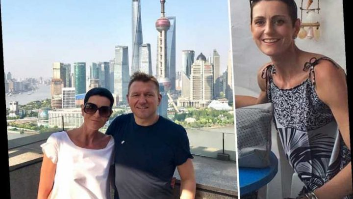 Mum, 44, fell 250ft to her death from luxury apartment block after moving to China with husband for new life