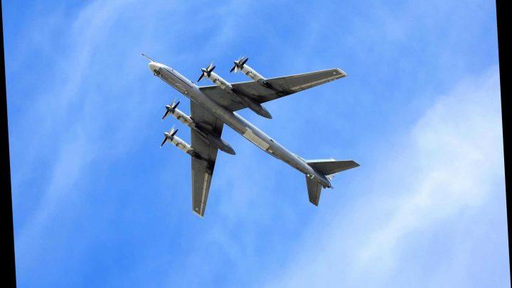 Russian bomber intercepted over Scotland as RAF scrambles Typhoon jets – The Sun