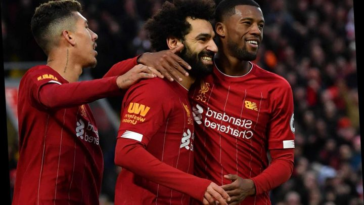 Liverpool's incredible form sees them close in on their own 48-year-old record for best winning streak at home – The Sun