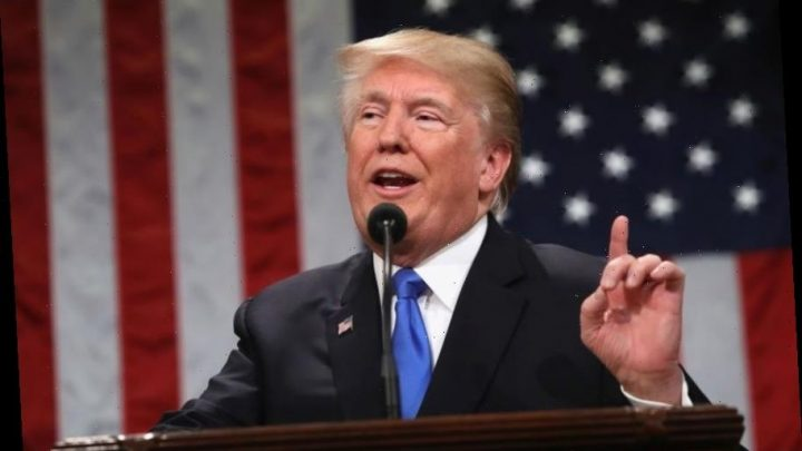 Donald Trump to play it safe with State of the Union address as he lets Democrat disarray hog headlines – The Sun
