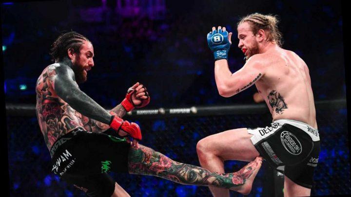Aaron Chalmers shocked as ex-Geordie Shore star beaten by American Austin Clem at Bellator Dublin – The Sun