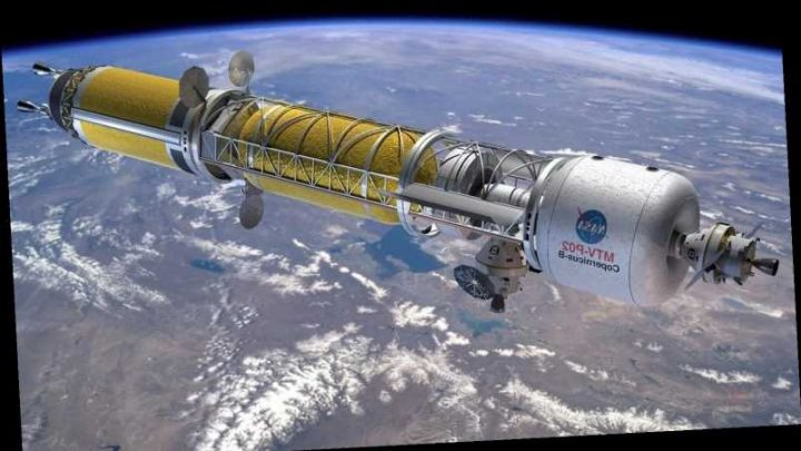 US working on nuclear satellites that can DRIVE around in space… but so is China – The Sun