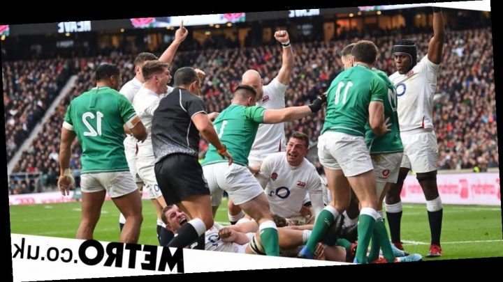 England 'beat up' Ireland to keep Six Nations title hopes alive