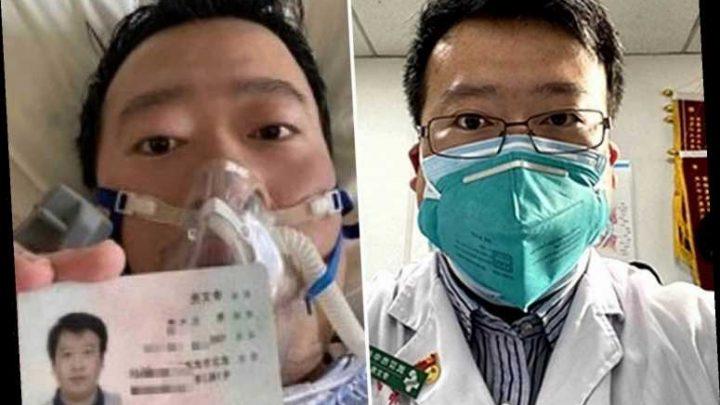 Fury over death of hero coronavirus doc as China CENSORS freedom of speech demands – The Sun
