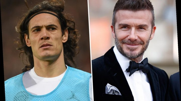 David Beckham's Inter Miami to step up Edinson Cavani chase after PSG star's Atletico Madrid transfer collapses – The Sun