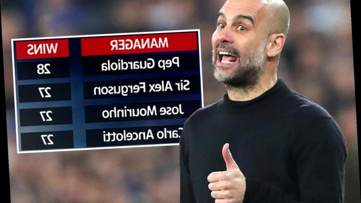 Pep Guardiola overtakes Sir Alex Ferguson and Jose Mourinho as manager with most Champions League knockout wins – The Sun