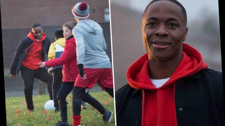 Watch Raheem Sterling's inspirational video aimed at inspiring kids and continuing his fight against discrimination – The Sun