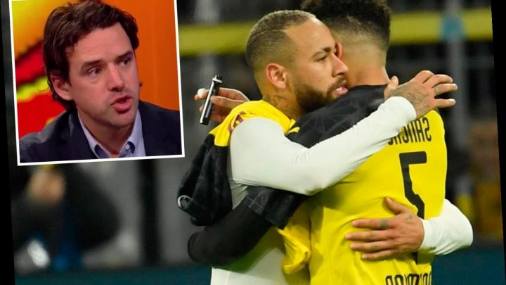 Jadon Sancho 'like Neymar in his prime' as Owen Hargreaves urges Man Utd to buy 'special' winger after destroying PSG – The Sun