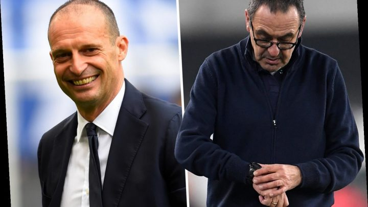 Maurizio Sarri facing Juventus sack with chiefs calling for Max Allegri to return after Hellas Verona defeat – The Sun