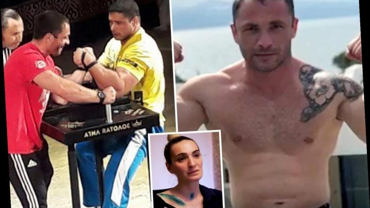 World champion arm wrestler caged in maximum security prison after shattering ex-wife's skull and leaving her for dead – The Sun