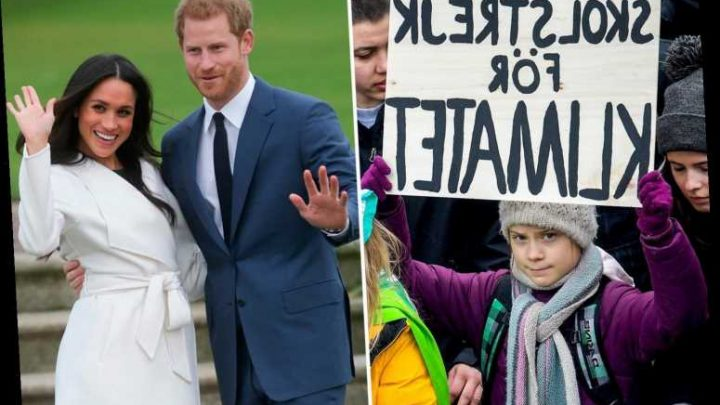 Eco-warriors Meghan Markle and Prince Harry could meet Greta Thunberg as they visit Britain in SAME week – The Sun