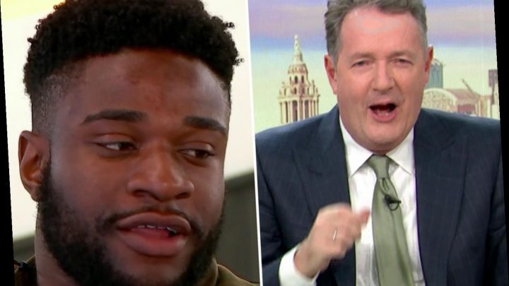 Piers Morgan brands Love Island stars 'brain-dead' after hilarious impression of Ched chatting up Jess