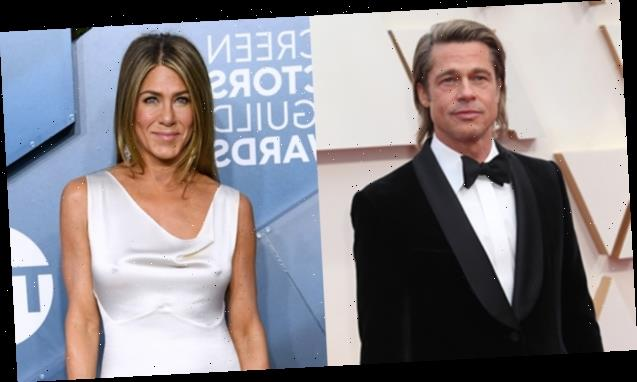 Brad Pitt & Jennifer Aniston Spotted At Same Exclusive Oscars After-Party After His Big Win
