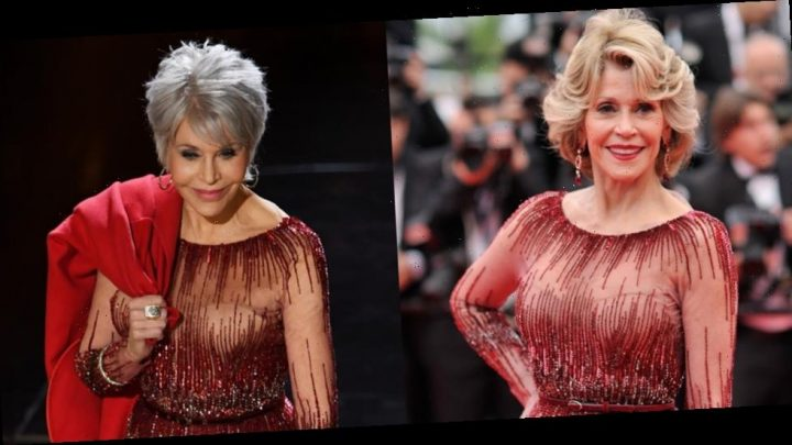 Jane Fonda Recycles Elie Saab Dress She Wore To Cannes 2014 For Oscars 2020