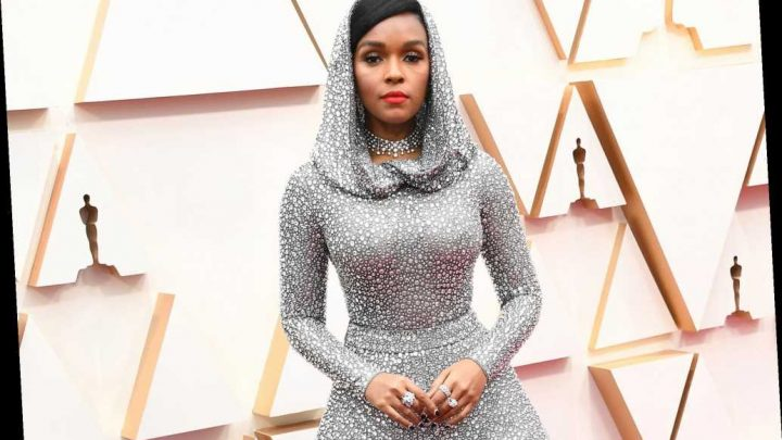 Janelle Monáe sparkles in dress with 168K crystals on Oscars 2020 red carpet
