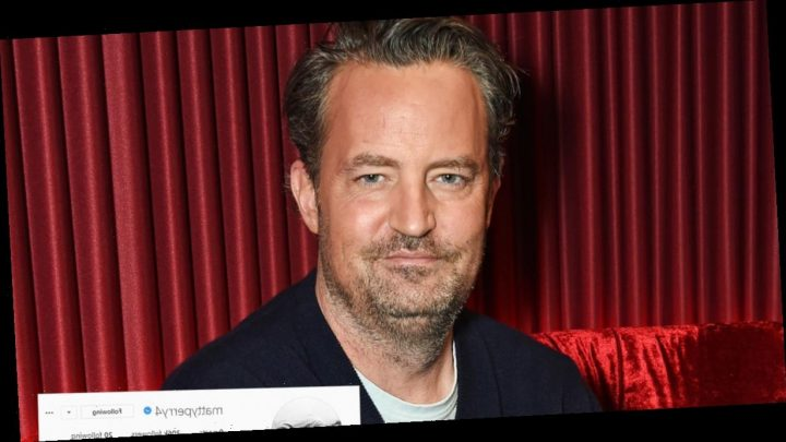 Matthew Perry is Final 'Friend' to Join Instagram — But Has Yet to Post