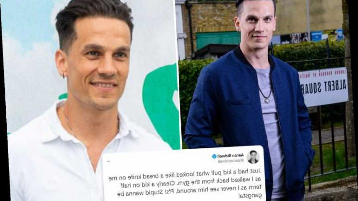 Ex EastEnders star Aaron Sidwell's terror as he's threatened at knifepoint on his way home from the gym – The Sun