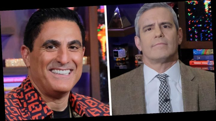 Andy Cohen Asks Reza If He Has Open Marriage After Shahs of Sunset Premiere Shocker