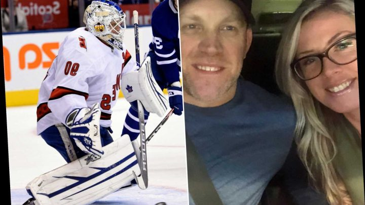 David Ayres' wife shows love after emergency goalie lives NHL dream
