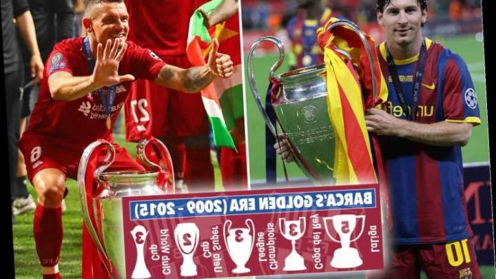 Lovren challenges Liverpool team-mates to embark on Barcelona-style trophy spree after march to Premier League title – The Sun